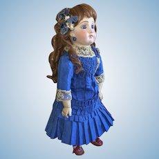 Beautiful Blue Tissue Silk Bebe Dress