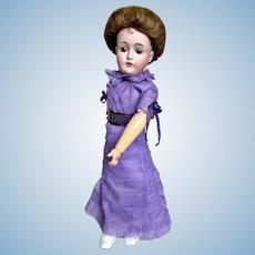 "Beautiful Kestner Lady Doll 17"" 162 w Wardrobe"
