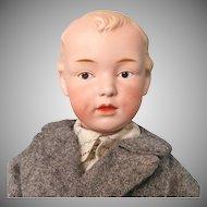 Antique Gebruder Heubach Character Boy 7622
