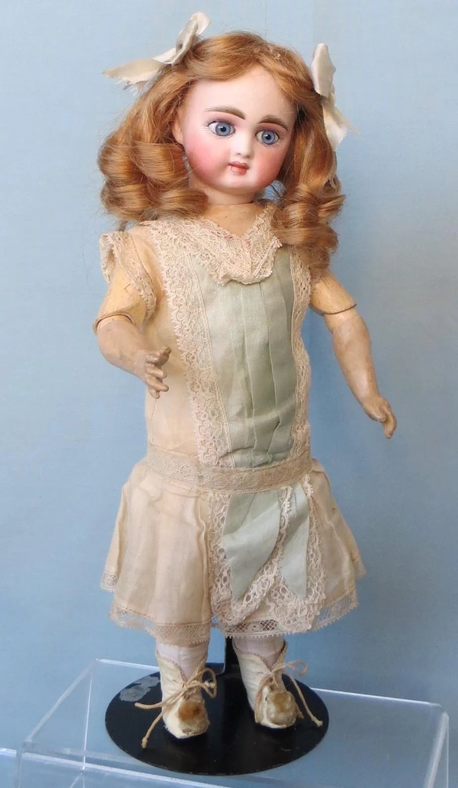 Antique German Bisque Doll By Gebruder Kuhnlenz For French