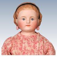 Simon & Halbig Parian Doll with Molded Hairband named Alice Hairdo