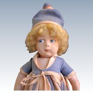 Early Lenci Doll with the Attached Metal Tag