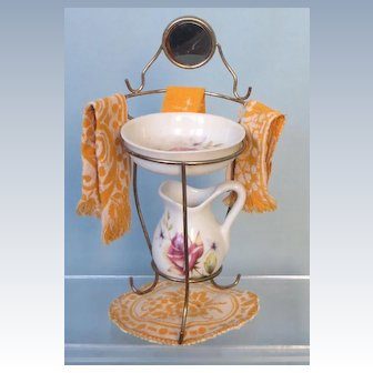 Old Washstand for Antique Doll