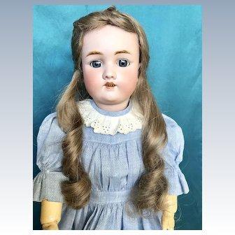 Antique German Doll  by C.M.Bergmann/Simon & Halbig.