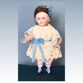 Antique All-Bisque Doll