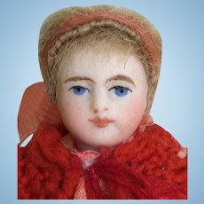 Antique German Tiny All-Bisque Doll