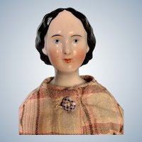 Antique China Doll with Waterfall Hairstyle by Conta & Boehme