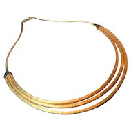 Shreve & Co 18K Retro Necklace
