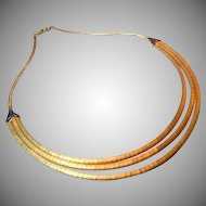 Retro 18K Gold Shreve & Co Necklace