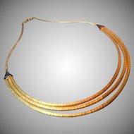 Shreve & Co 18K Retro Necklace