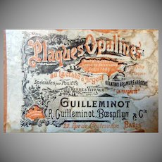 Rare R. Guillminot World War One Stereo Glass Slides