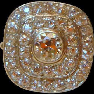 Vintage Art Deco Diamond and Platinum Ring