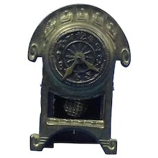 Erhard Sohne Doll House Ormolu Clock