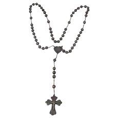 Sterling Silver Filigree Rosary