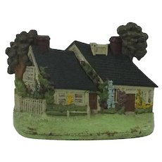 Hubley Cast Iron Cottage/House Door Stop