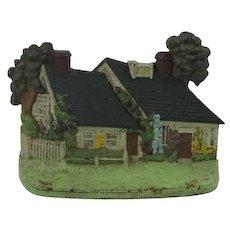 Hubley Cast Iron Cottage/House