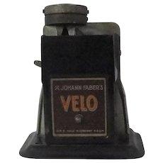 Johann Faber's VELO Antique Mechanical Pencil Sharpener