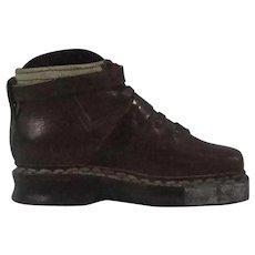 Salesmans Sample Mens Leather Work Shoe