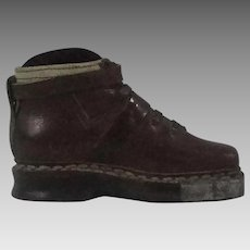 Salesmans Sample Mens Leather Work Shoe