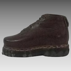 Salesmans Sample Mens Leather Shoe
