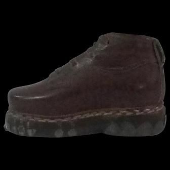 Salesmans Sample Mens Leather Shoe