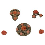 Five Pieces Of Faux Coral