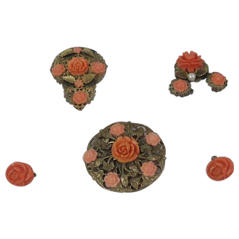 Five Pieces Of Faux Coral