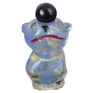 Vintage Glass English Cartoon Character Bonzo Perfume