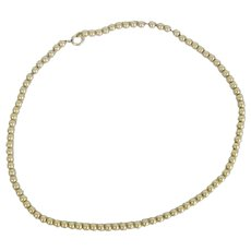 Vintage Simmons Gold Filled Beads Necklace