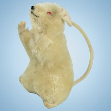 "Steiff ""Pieps"" White Mouse"