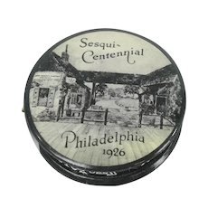 Celluloid Philadelphia Pennsylvania Sesqui-Centennial 1926 Advertising Tape Measure