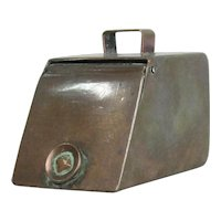 Miniature Copper Coal Scuttle