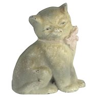 Hubley Cast Iron Pussy Cat Paperweight