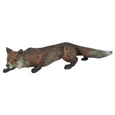 Bergman Vienna Bronze Cold Painted Fox