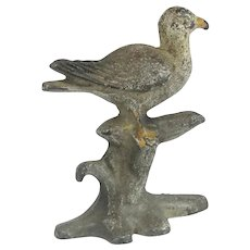 "Hubley ""Seagull"" Cast Iron Bottle Opener"