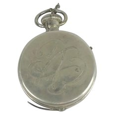 Antique 1904 Expo Camera New York Pocket Watch Style Spy Camera