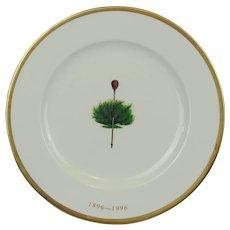 Merion Golf Club Centennial One Hundredth Anniversary Plate By Boehm 1896 - 1996