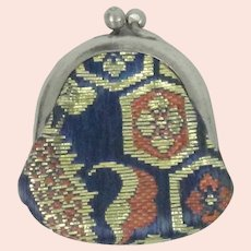 Miniature Japanese Silk Fashion Doll Purse