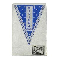 Riviera Pinochle Playing Cards Art Deco