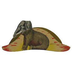 1912 Republican Presidential Convention Elephant Hat.