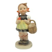 """Vintage Hummel Girl With Basket """"Sister"""" #98/0 5 """" TM3"""