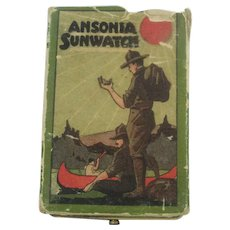 Vintage Ansonia Sun Watch By The Ansonia Clock Co.