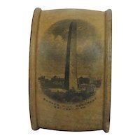 Early Mauchline Ware Napkin Ring