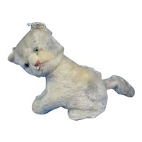 Steiff Rare Music Kitty 1955 - 1961 17 cm As Is