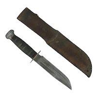 WWII  World War II Era Fighting Knife RH 36 PAL USA