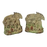 Spirit Of Freedom Cast Iron Bookends #130