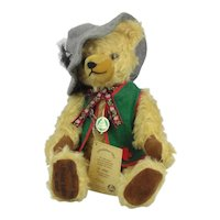 Vintage Hermann Limited Edition Numbered Teddy Bear Oktoberfest 1995