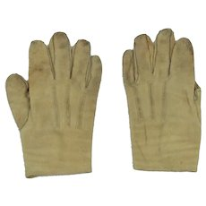 """Antique Best & Company New York Leather Child's Gloves 5"""""""