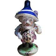 Early 1800s Porcelain Derby Mansion Dwarf - England