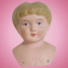 Minerva Metal Doll Head - Germany